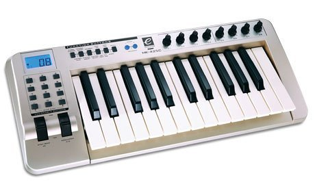 A typical MIDi keyboard